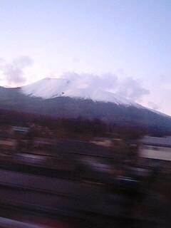 浅間山もきれいだ!