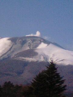 今日の浅間山