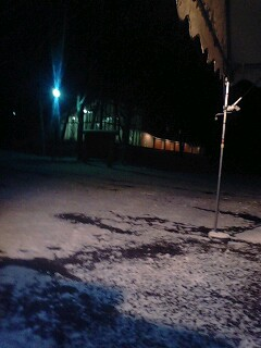 積雪だぁ♪