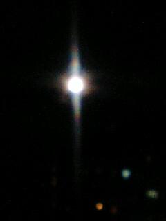 今日も月が綺麗だ♪