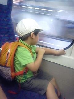 新幹線一人旅もどき…。