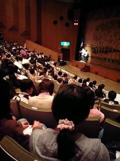 中学生ひろば・高大生研修 発表会。