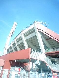 そして新球場…。