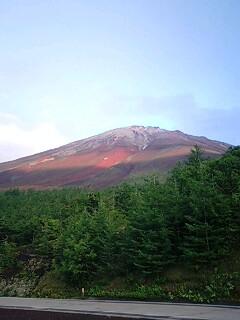 富士山なう。